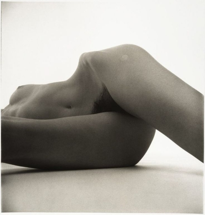 Irving Penn (American, Plainfield, New Jersey 1917-2009 New York) 'Nude No. 42' 1949-50, printed 1949-50