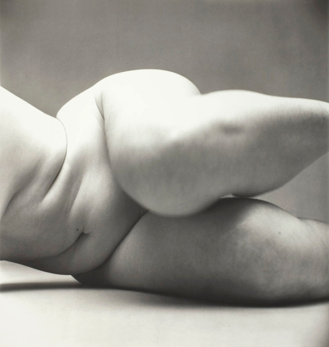 Irving Penn (American, Plainfield, New Jersey 1917-2009 New York) 'Nude No. 57' 1949-50, printed 1949-50