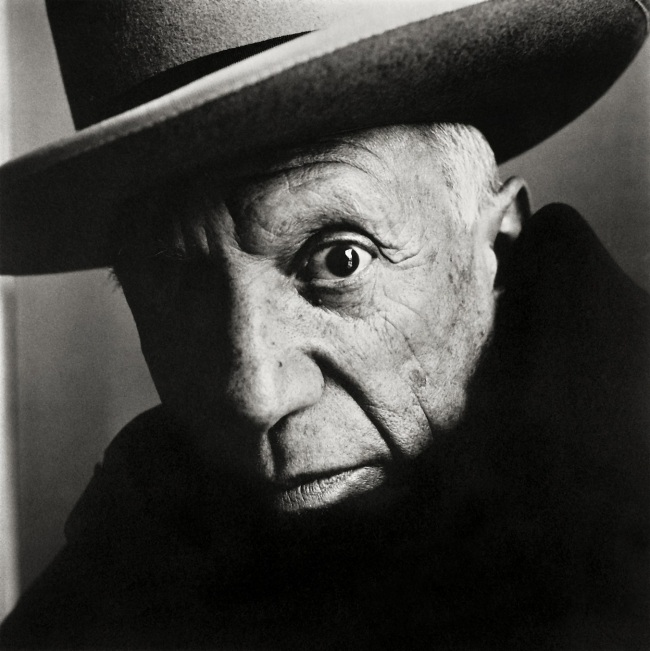 Irving Penn (American, Plainfield, New Jersey 1917-2009 New York) 'Pablo Picasso at La Californie, Cannes' 1957, printed February 1985