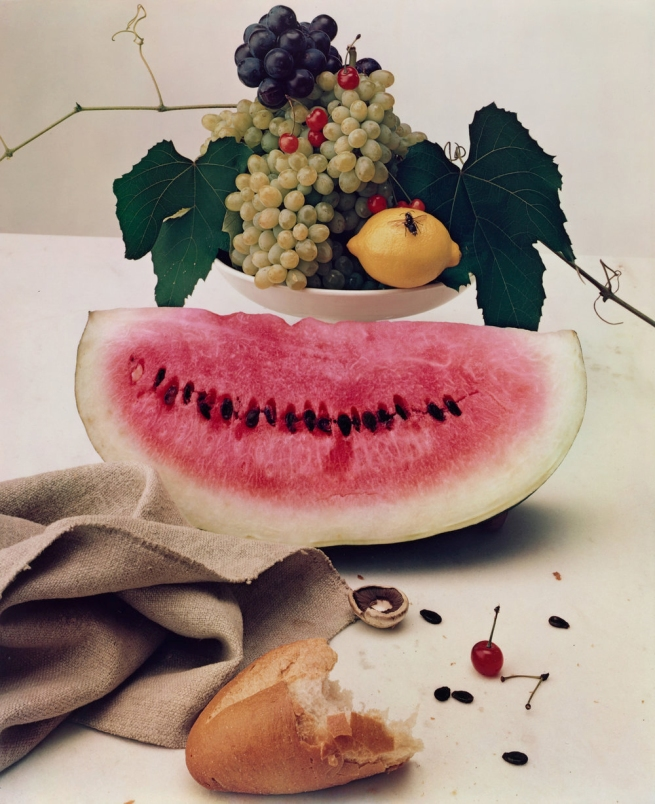 Irving Penn (American, Plainfield, New Jersey 1917-2009 New York) 'Still Life with Watermelon, New York' 1947, printed 1985