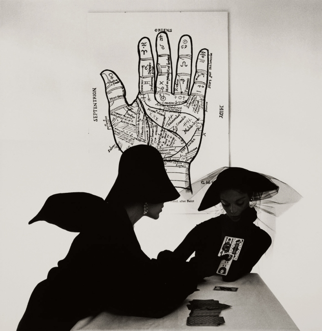 Irving Penn (American, Plainfield, New Jersey 1917-2009 New York) The 'Tarot Reader (Bridget Tichenor and Jean Patchett), New York' 1949, printed 1984