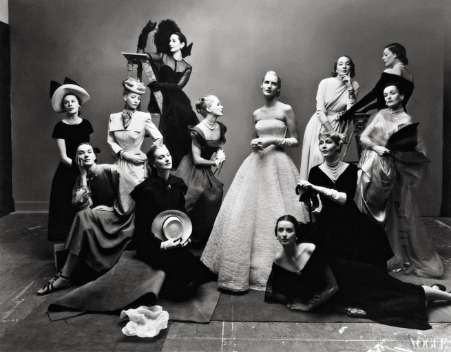 Irving Penn (American, Plainfield, New Jersey 1917-2009 New York) 'The Twelve Most Photographed Models, New York' 1947