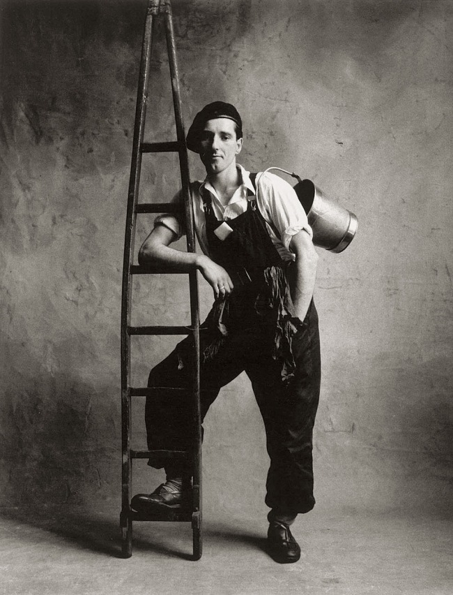 Irving Penn (American, Plainfield, New Jersey 1917-2009 New York) 'Window Washer' 1950, printed 1967
