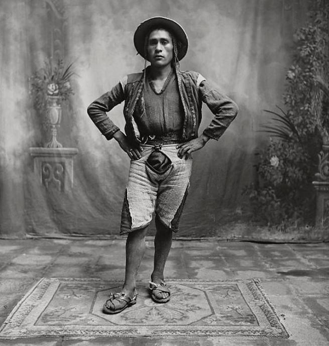 Irving Penn (American, Plainfield, New Jersey 1917-2009 New York) 'Young Quechuan Man, Cuzco' December 1948, printed 1949