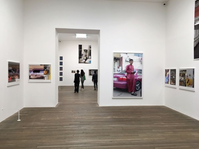 Installation view of the exhibition 'Wolfgang Tillmans: 2017' at Tate Modern 15 February - 11 June