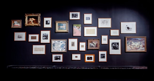 Installation view of the exhibition 'Patrick Pound: The Great Exhibition' at NGV Australia, Federation Square. Presented as part of the NGV Festival of Photography
