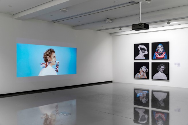 'Christian Thompson: Ritual intimacy', installation view: Monash University Museum of Art, Melbourne 2017