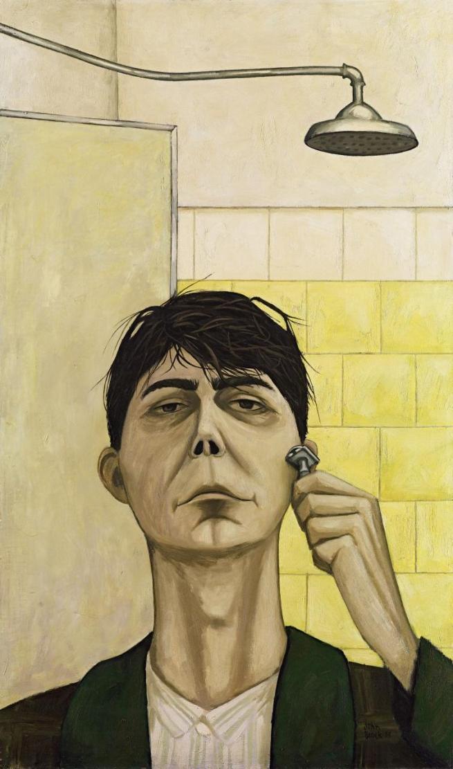 John Brack (Australia 1920-99) 'Self-portrait' 1955