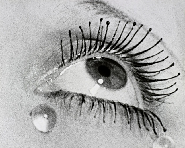 Man Ray. 'Eye and tears' 1930s, printed 1972