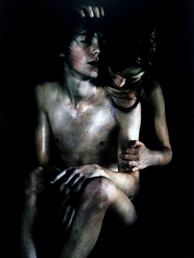 Bill Henson (Australian born 1955) 'Untitled #10' 2011/2012 (detail)