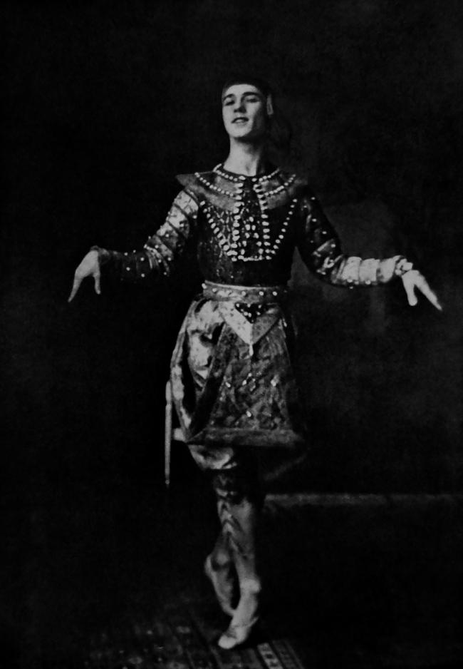 "'Nijinski' From the works ""The Russian Theater"", Amalthea-Verlag, Vienna c. 1928"