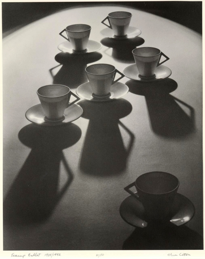 Olive Cotton (Australia 1911-2003) 'Teacup ballet' 1935, printed 1992