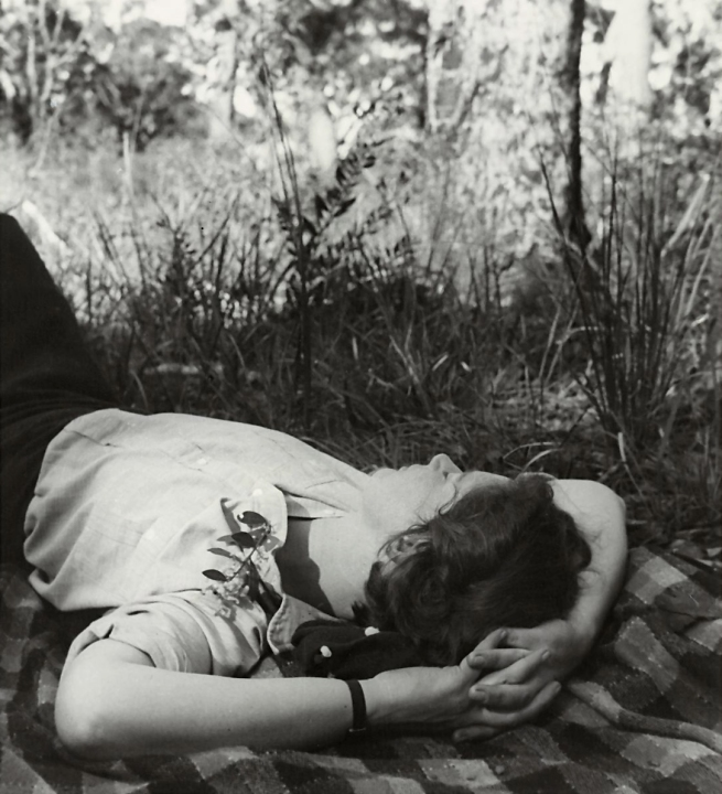 Olive Cotton (Australia 1911-2003) 'The sleeper' 1939, printed 1992