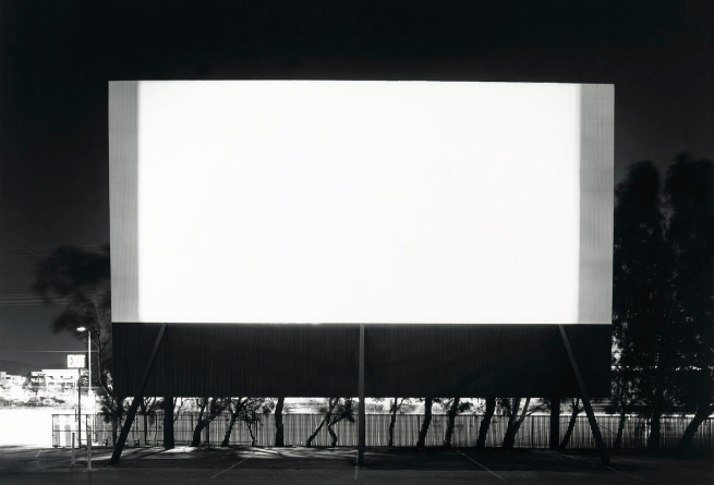 Hiroshi Sugimoto (born Japan 1948, lived in United States and Japan 1976- ) 'Winnetka Drive-In, Paramount' 1993