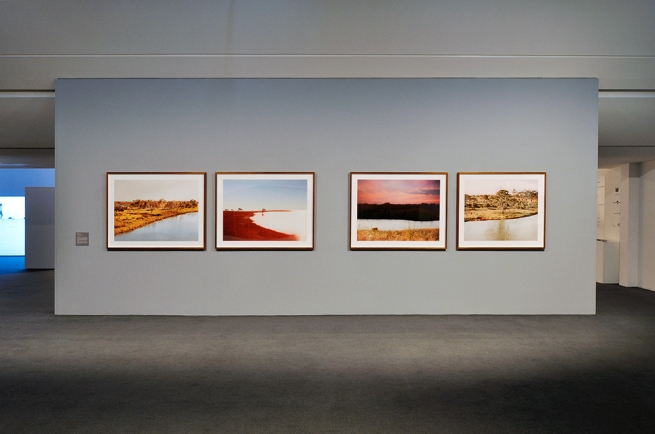Installation view of the exhibition 'Under the sun Reimagining Max Dupai