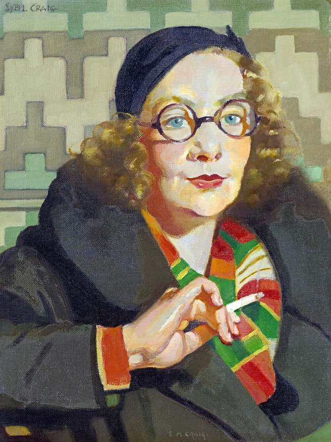 Sybil Craig (England 1901 - Australia 1909, Australia from 1902) 'Peggy' c. 1932