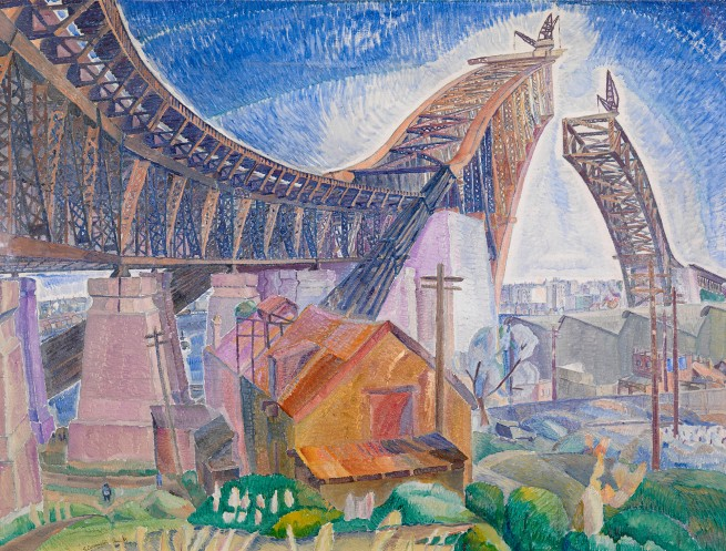 Grace Cossington Smith. 'The Bridge in-curve' 1930