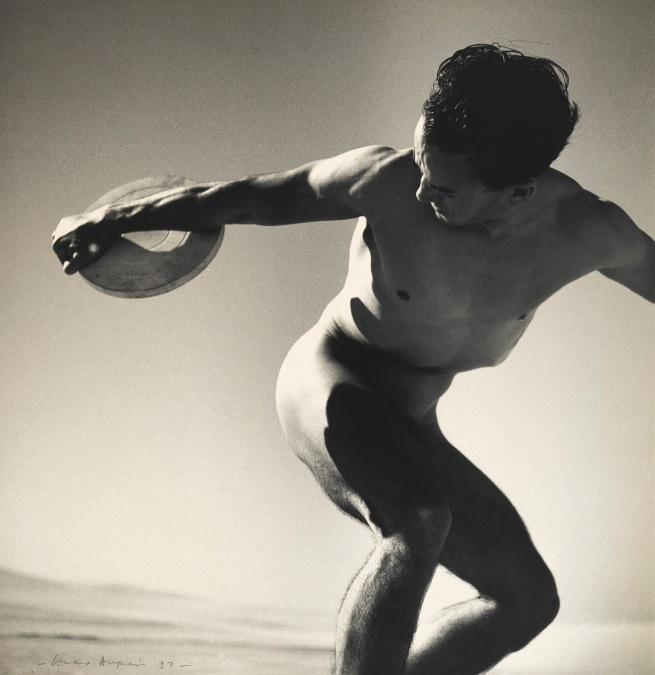 Max Dupain (Australia 1911-92) 'Discus thrower' 1937, printed (c. 1939)