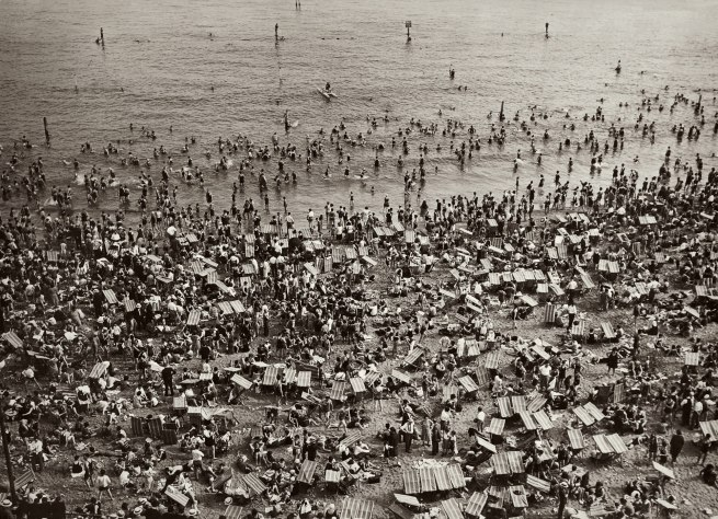 Walker Evans (1903-1975) 'Coney Island Beach' c. 1929