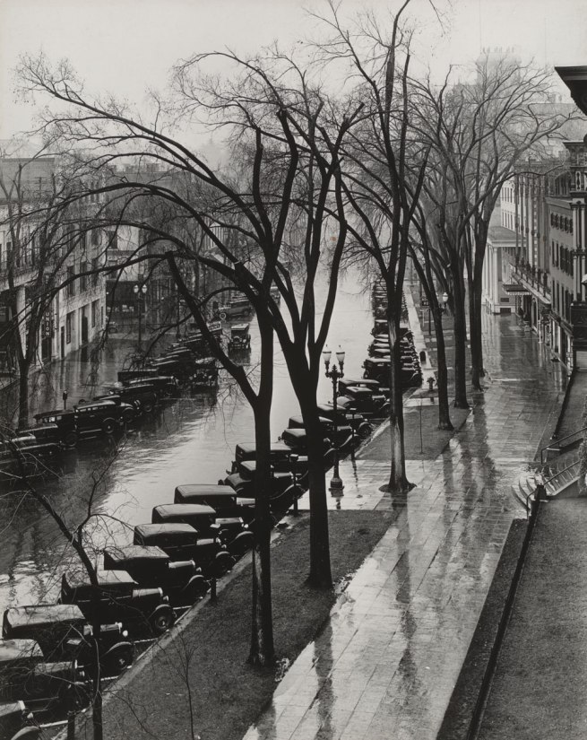 Walker Evans (1903-1975) 'Main Street, Saratoga Springs, New York' 1931