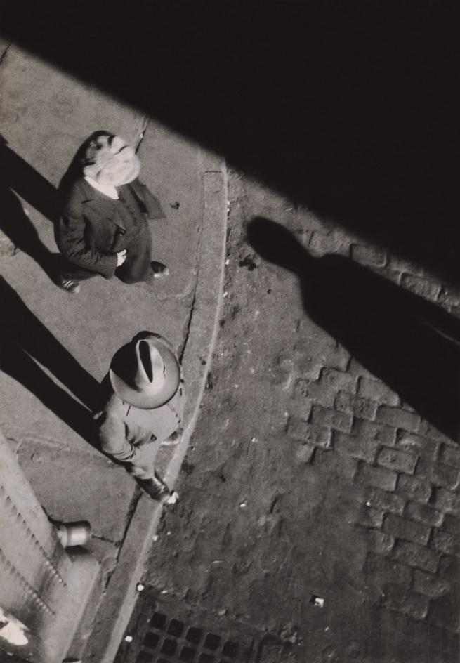 Walker Evans (1903-1975) 'New York City Street Corner' 1929