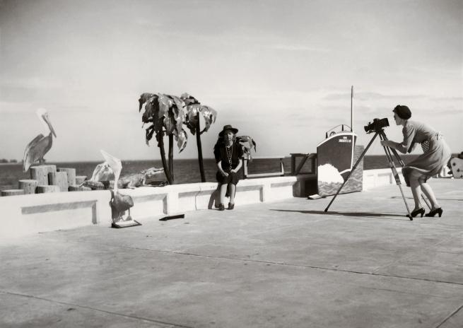 Walker Evans (1903-1975) 'Resort Photographer at Work' 1941