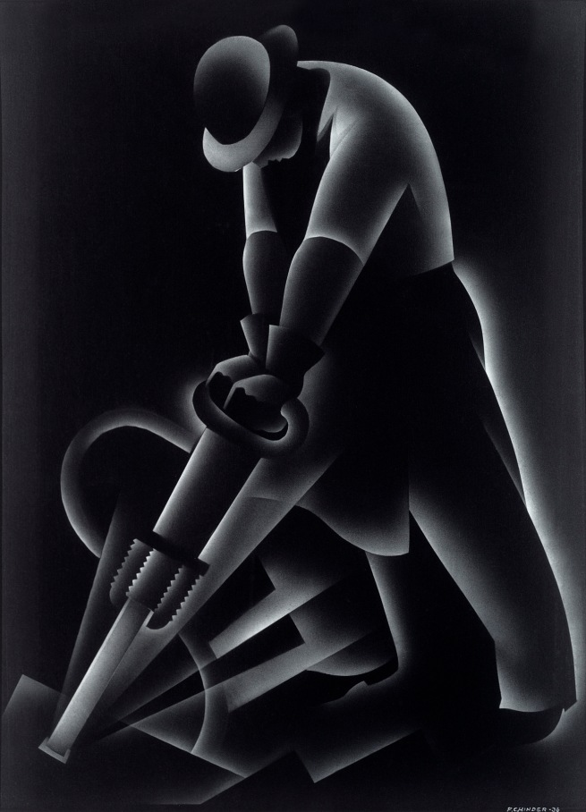 Frank Hinder (Australia 1906-92, United States 1927-34) 'Jackhammer' 1936