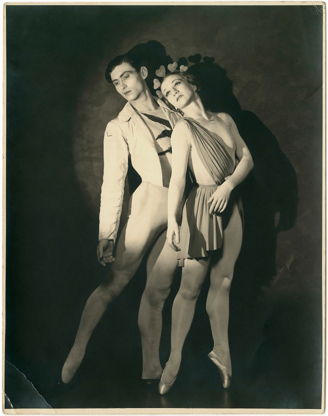 Jack Cato (Australia 1889-1971, England 1909-14, South Africa 1914-20) 'Helene Kirsova and Igor Youskevitch in Les Presages, Monte Carlo Russian Ballet' 1936-37