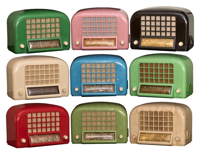 Amalgamated Wireless (Australasia) Ltd., Sydney (manufacturer) est. 1913 'AWA 'Egg crate' (various colours)' 1938