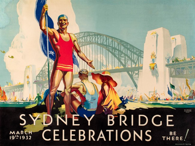 Douglas Annand (Australia 1903-76) Arthur Whitmore (Australia 1910-65) 'Sydney Bridge celebrations' 1932
