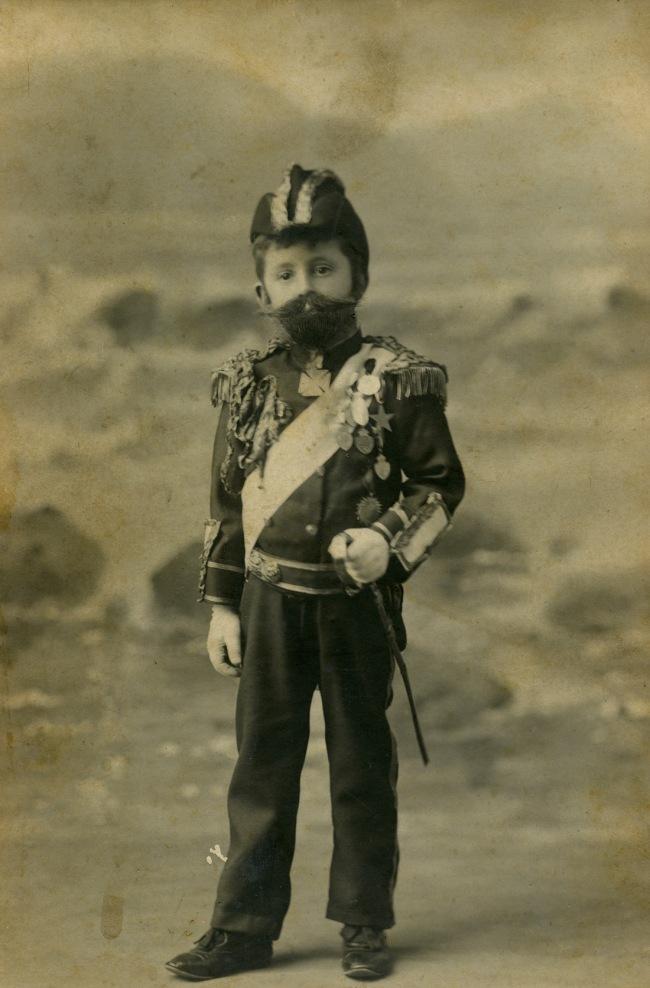 Fegan & Ruddle. 'Harry Smith Jr dressed as Duke of York for Children's Hospital Ball' 1902