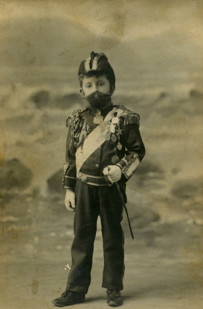Fegan & Ruddle. 'Harry Smith Jr dressed as Duke of York for Children's Hospital Ball' 1902