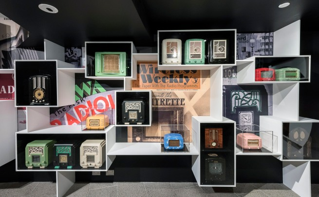 Installation view of 'Brave New World: Australia 1930s' at NGVA