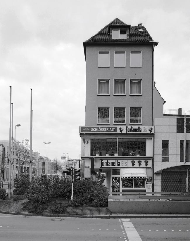 Volker Döhne (b. 1953) 'Krefeld, Ostwall corner Rheinstraße, (Reconstruction II)' 1990 (1992)