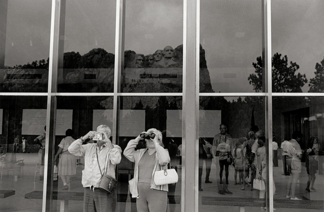 Lee Friedlander (born United States 1934) 'Mount Rushmore' 1969, printed c. 1977