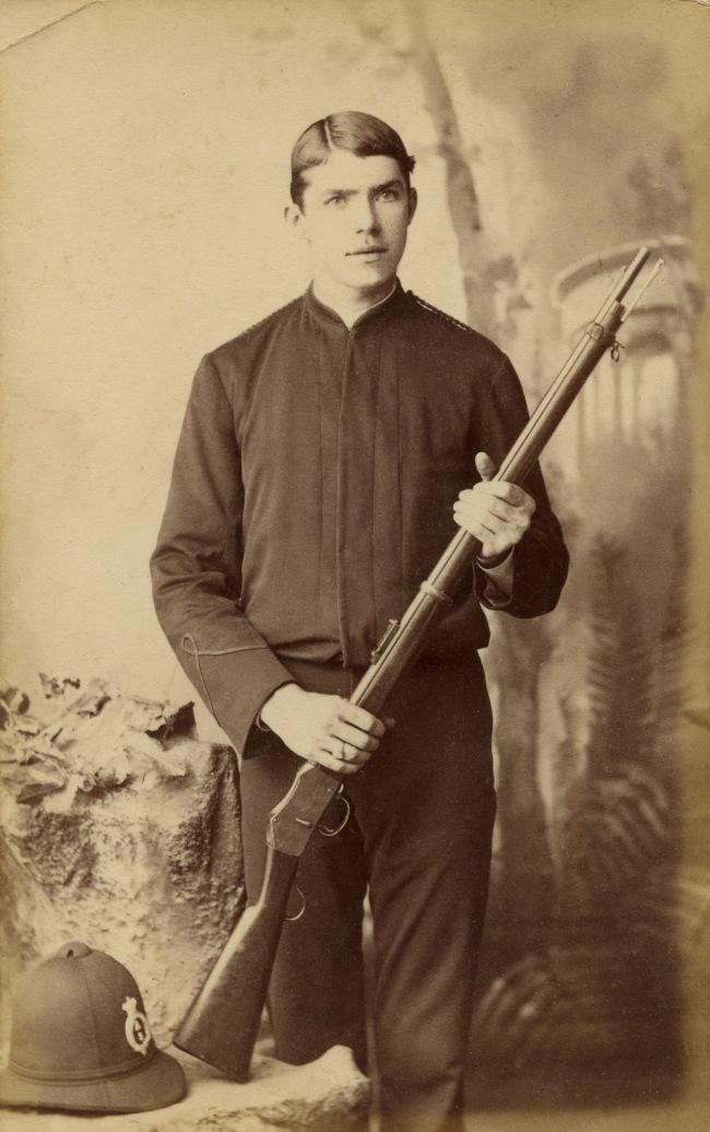 Poul C Poulsen. 'Queensland policeman' c. 1885