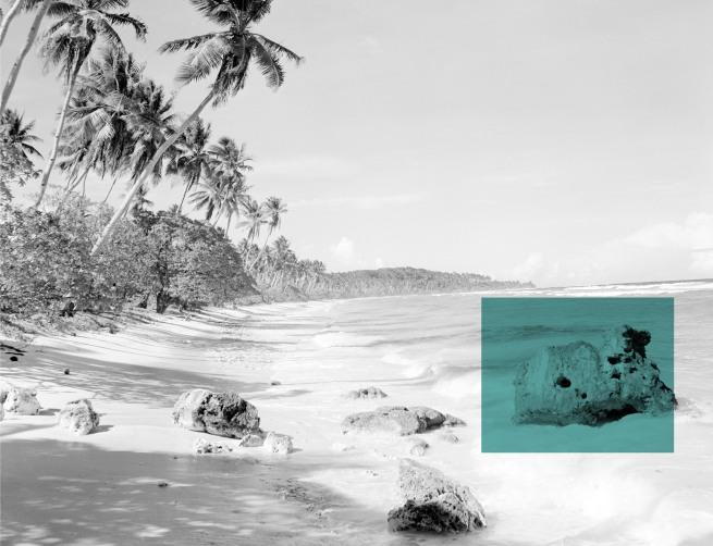 Sara Oscar (born 1975, Sydney, NSW) 'Pleasant Island (The Pacific Solution)' 2017