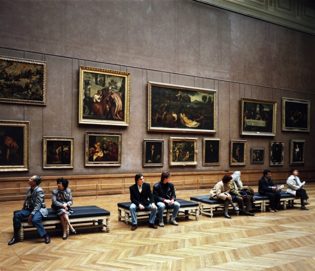 Thomas Struth (*1954) 'Louvre 3, Paris 1989' 1989 (2012)