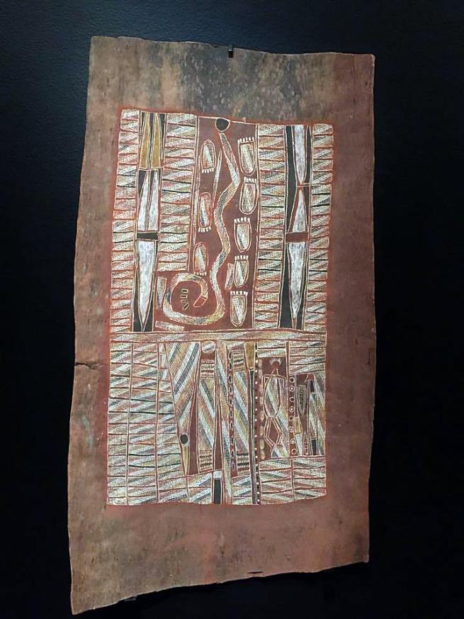Tjam Yilkari Katani Liyagalawumirr active 1930s 'Wagilag dhaawu (Wagilag Sisters story)' 1937