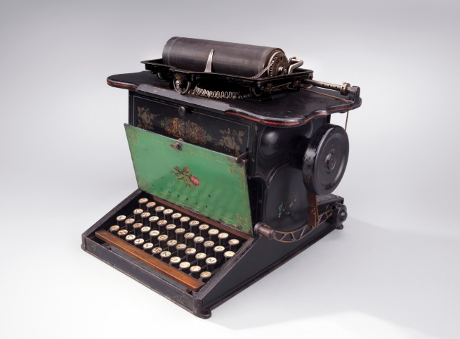 Sholes & Glidden Type Writer 1875
