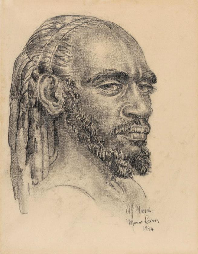 Arthur Murch (Australia 1902-89, Europe 1936-40) 'Walila, Pintupi tribe' 1934