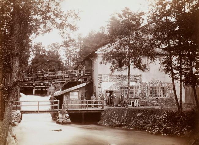 Carl Jacob Malmberg. 'The copper quay and the polishing works at Fiskars bruk, Finland' 1872