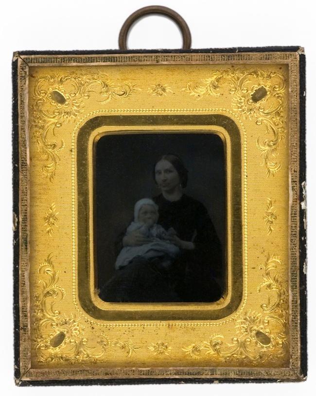 Carl Jacob Malmberg. 'Maria Catharina Malmberg with Children' c. 1860