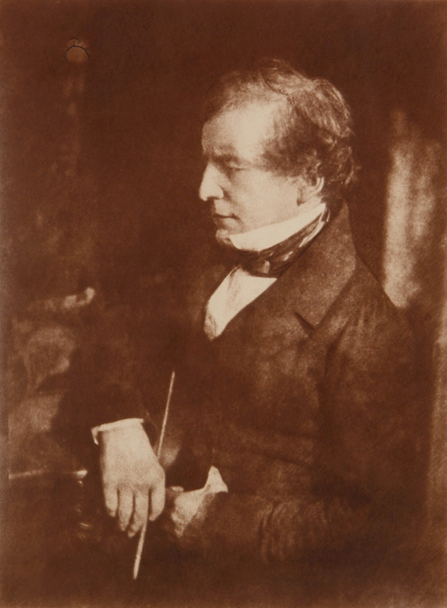 David Octavius Hill and Robert Adamson. 'William Etty' 1844/c. 1880