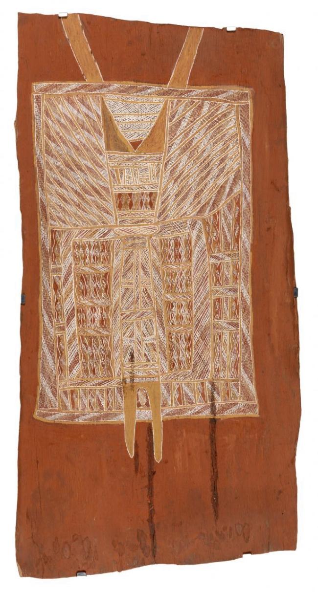 Unknown Walamangu active (1930s) 'Dhukurra dhaawu (Sacred clan story)' c. 1935