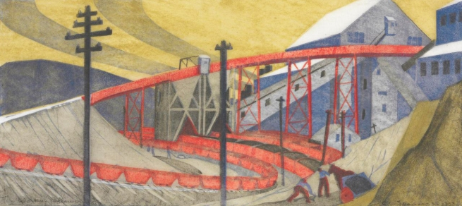 Ethel Spowers (Australia 1890-1947, England and France 1921-24) 'The works, Yallourn' 1933