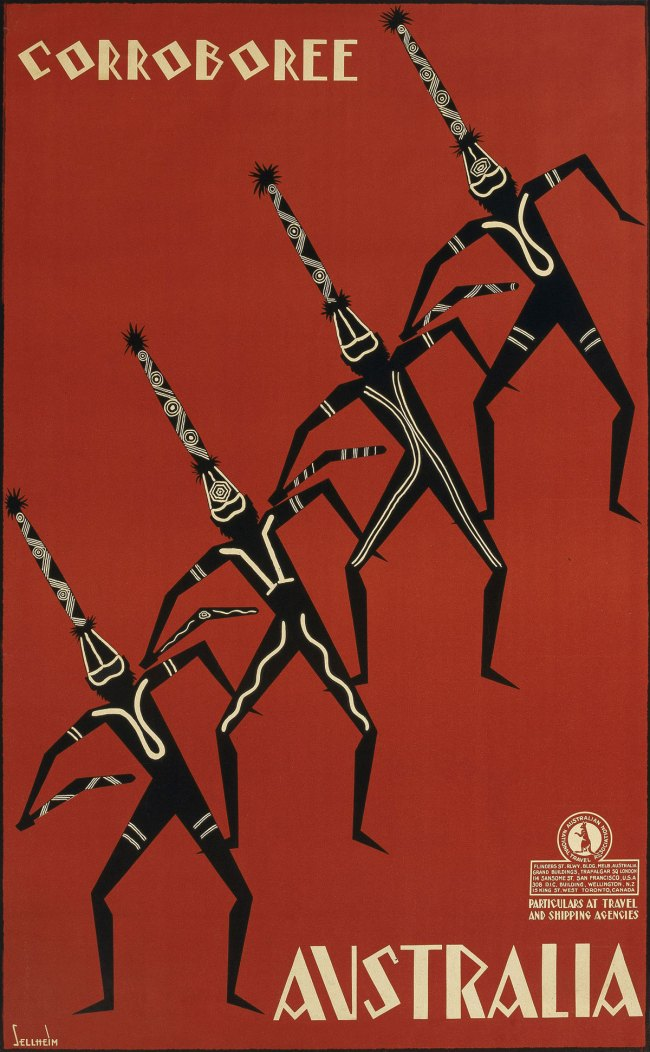 Gert Sellheim (Russia (of German parents) 1901-Australia 1970, Australia from 1926) 'Corroboree Australia' 1934