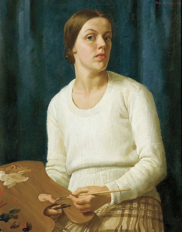 Nora Heysen (Australia 1911-2003, England and Italy 1934-37) 'Self-portrait' 1932