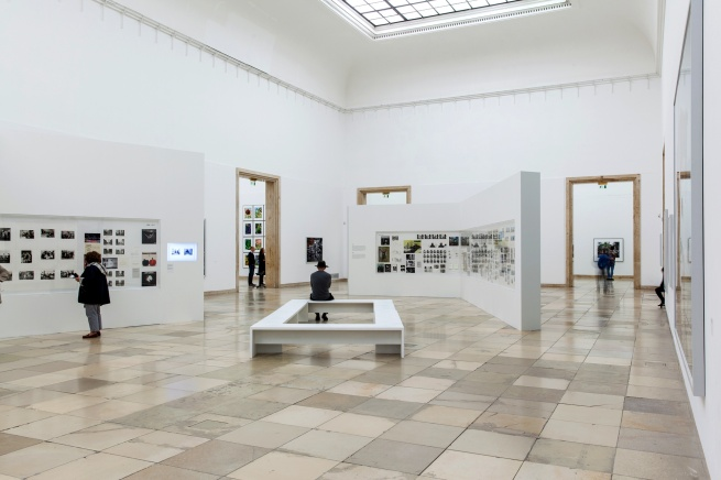 Installation view of the exhibition 'Thomas Struth: Figure Ground' at Haus der Kunst, Munich