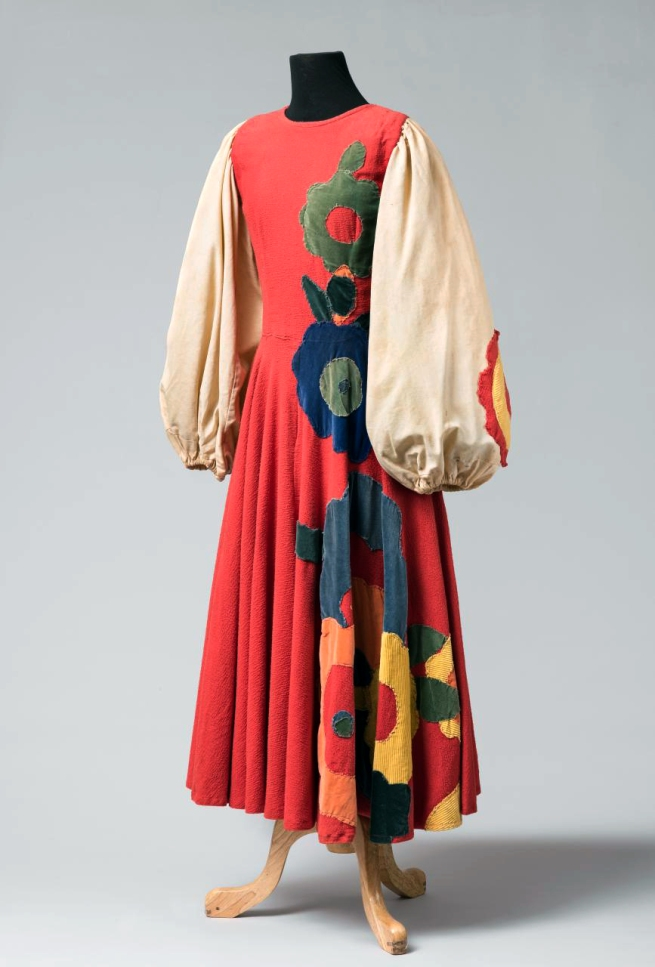Evelyn Ippen designer and maker active in Australia 1930s 'Dress for Slavonic Dances' 1939
